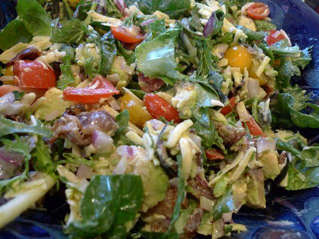 Bacon, Lettuce, Avocado, and Tomato Salad « Tips, Tricks & Recipes