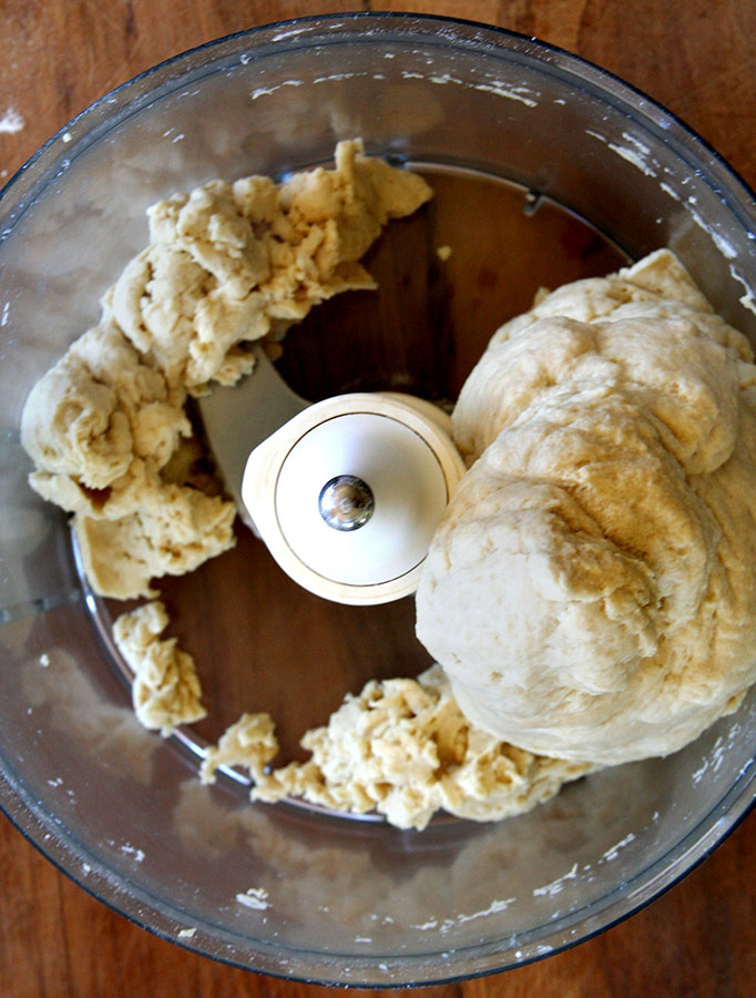 dough in processor
