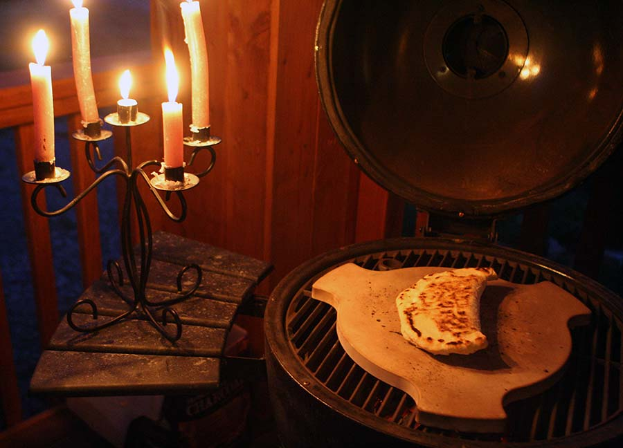 Calzones by Candlelight