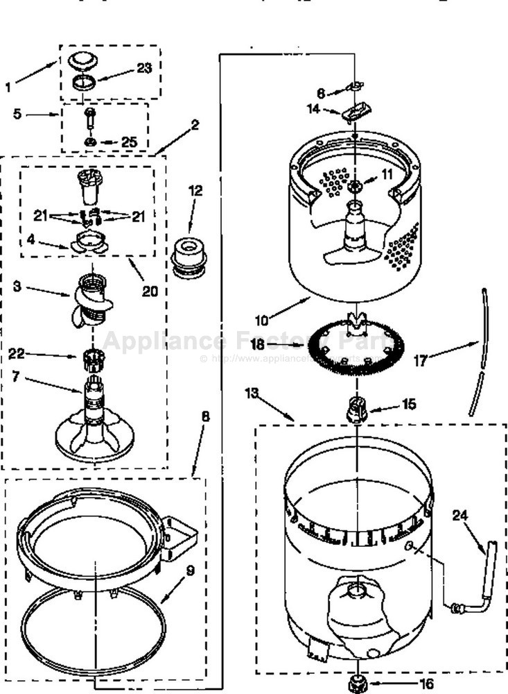 kenmore 800 series washer schematic
