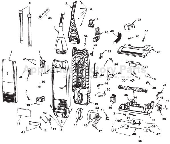 parts for u5018