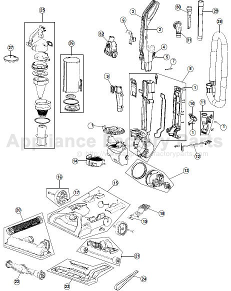 parts for uh70107
