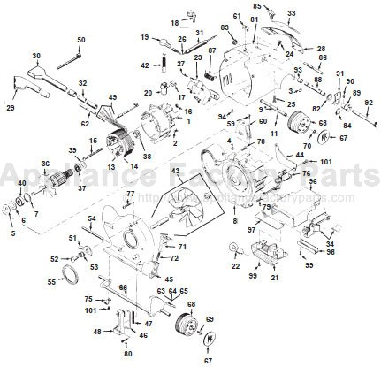 kirby vacuum parts diagram wiring source