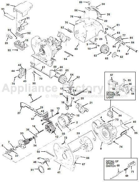 Vacuum Parts Vacuum Parts Cleveland Ohio