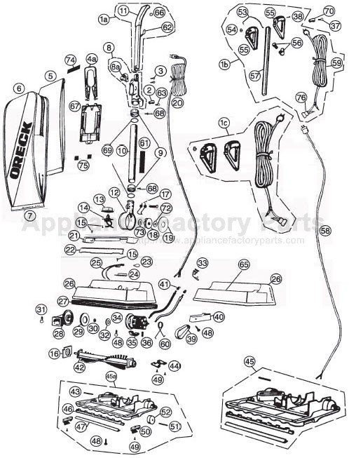 Parts For 2100rh