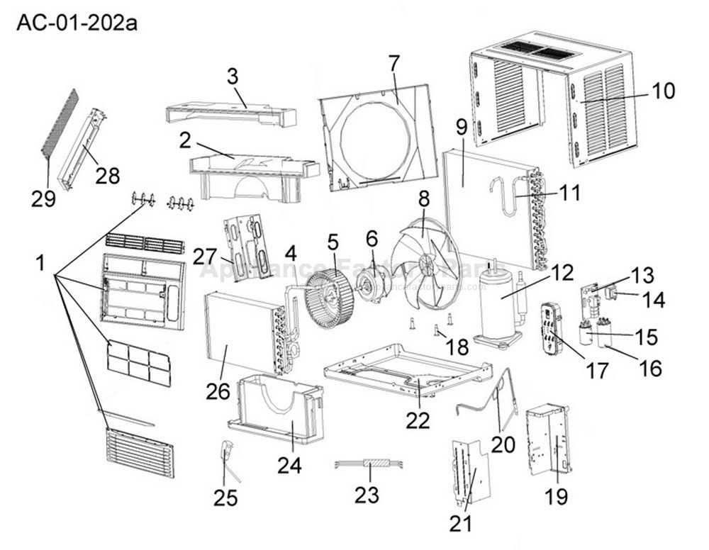 208827-1  Haier Air Conditioner Wiring Diagram on