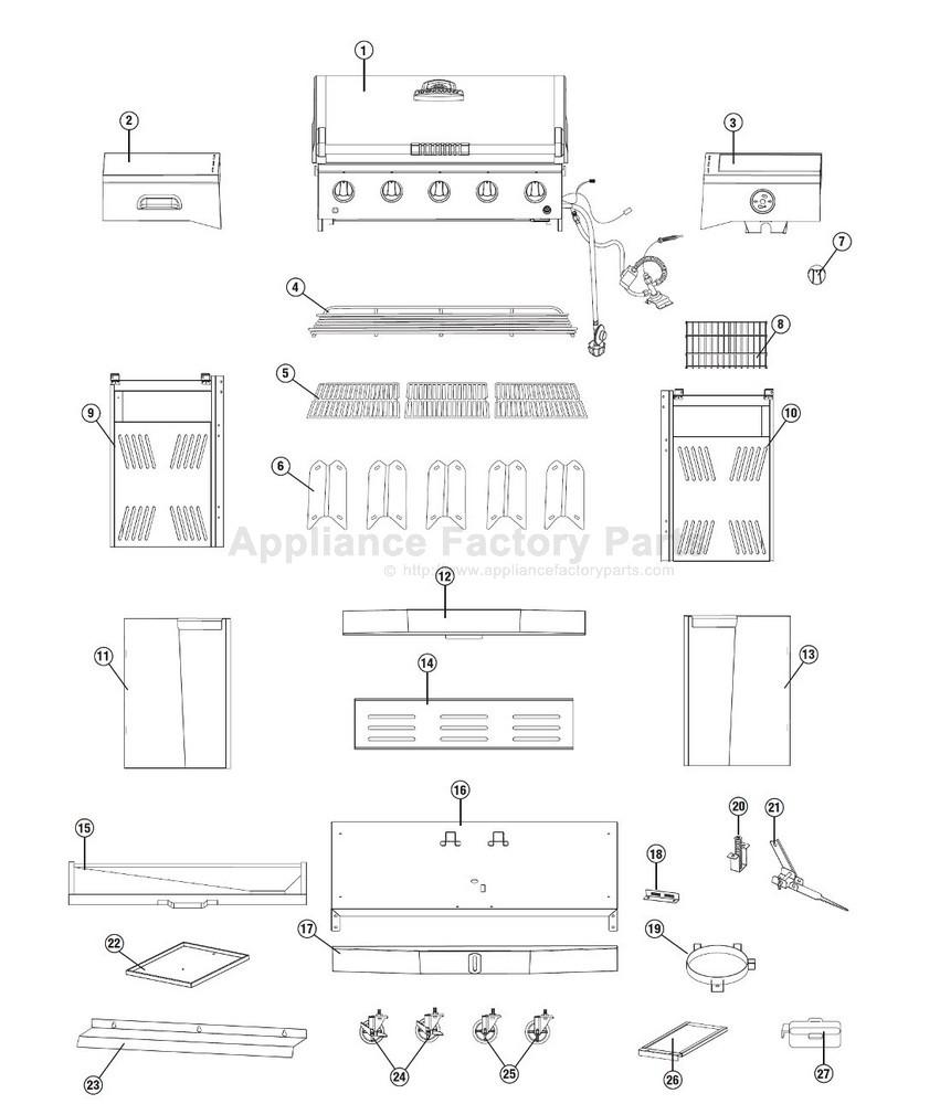 Brinkmann 810-4580-S BBQ Parts