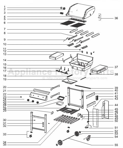 Weber Genesis 300 Parts Diagram
