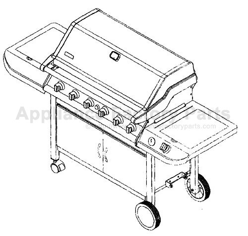 kenmore elite grill parts. accessories for all bbqs: kenmore elite grill parts g