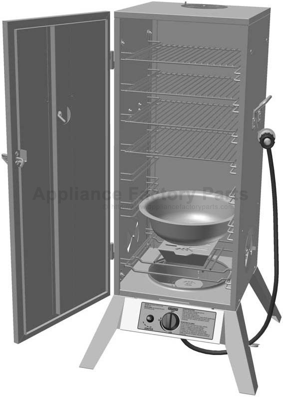 Great Outdoors 3605gd Bbq Parts