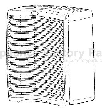 Parts For 106 4283230 Kenmore Air Cleaners