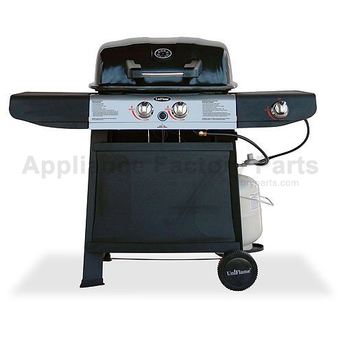 Uniflame Gas Grill ~ Uniflame gbc w bbq parts