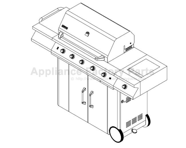 Gas Grill Replacement Parts Html in addition 720 0512 together with 730 0337 likewise Whirlpool Duet Water Filter furthermore Maytag Neptune Electric Dryer Wiring Diagram. on jenn air grill parts