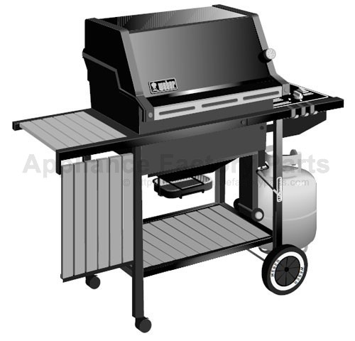 weber weber 1100 lp parts bbqs and gas grills. Black Bedroom Furniture Sets. Home Design Ideas