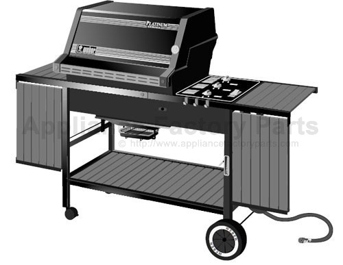 Weber Platinum 1 2200 Ng Parts Bbqs And Gas Grills