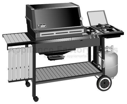 weber genesis 3000 lp parts bbqs and gas grills. Black Bedroom Furniture Sets. Home Design Ideas