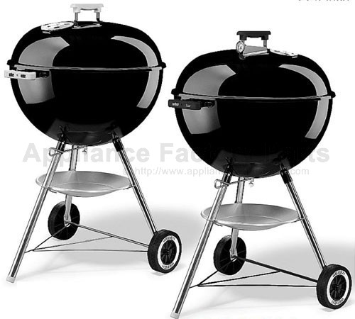 weber one touch silver 18 1 2 inch parts bbqs and gas grills. Black Bedroom Furniture Sets. Home Design Ideas