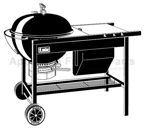 weber performer charcoal prior to 2000 parts bbqs and gas grills. Black Bedroom Furniture Sets. Home Design Ideas