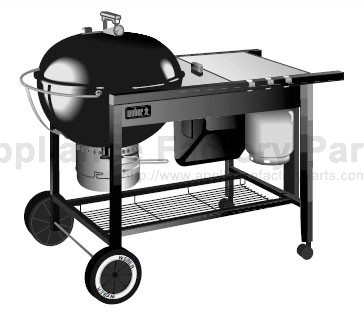 weber performer touch n go prior 2000 parts bbqs and gas grills. Black Bedroom Furniture Sets. Home Design Ideas