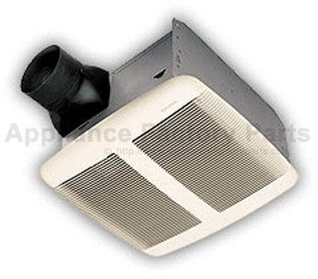 Parts for qtre080 fan broan hvacs - Ultra quiet bathroom exhaust fan with light ...