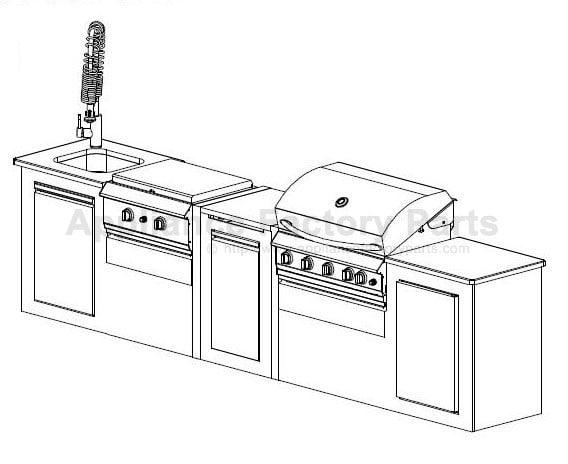 grand hall cgi08alp bbq parts. Black Bedroom Furniture Sets. Home Design Ideas