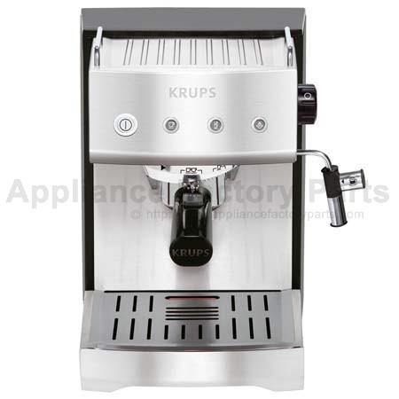Green tea in espresso machine