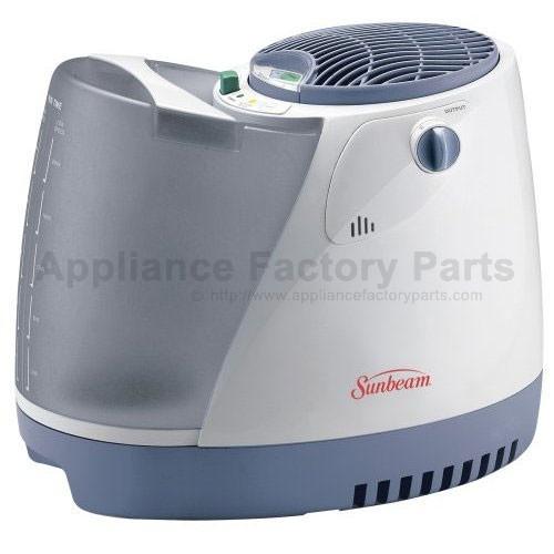 how to clean sunbean humidifier