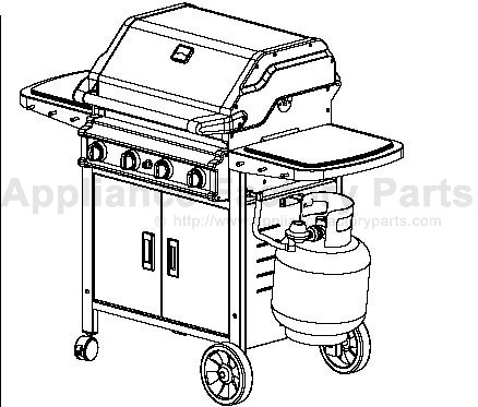 user guides or manuals of master forge grills