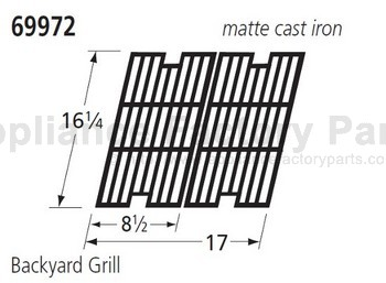 cooking grids backyard classic parts