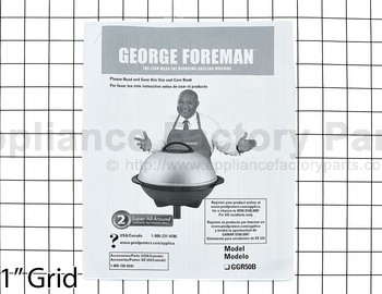 george foreman indoor outdoor grill manual ggr50b